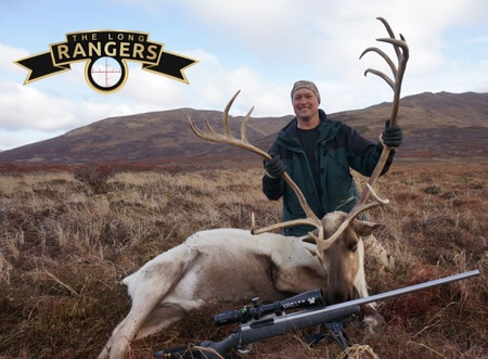 Caribou hunt Chris Meyer custom rifle long range