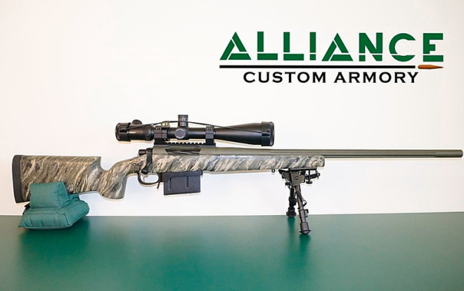 7mm Long Range custom rifle