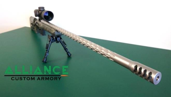 338 Lapua Long Range custom rifle