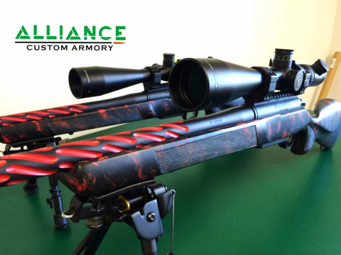 Long Range custom rifle