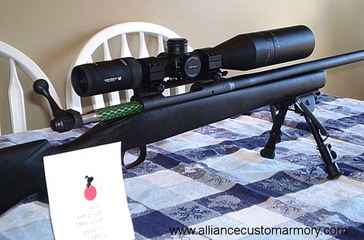 6mm ackley custom rifle