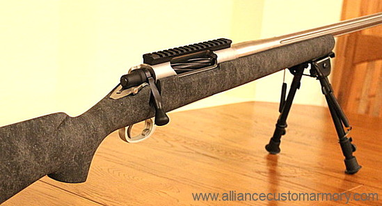 338 Edge custom rifle