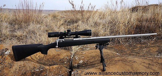 22-250 custom rifle