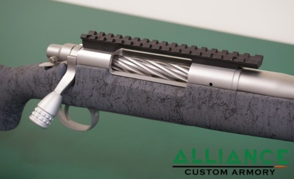 custom remington rifle
