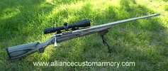 7mm wsm custom rifle