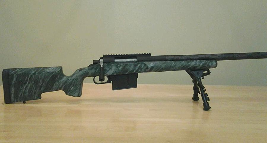 long range custom rifles